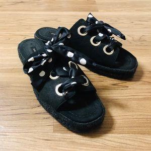 Zara bowknot sandal